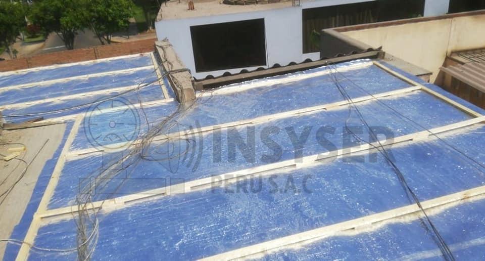 Aislar techo / aislamiento térmico