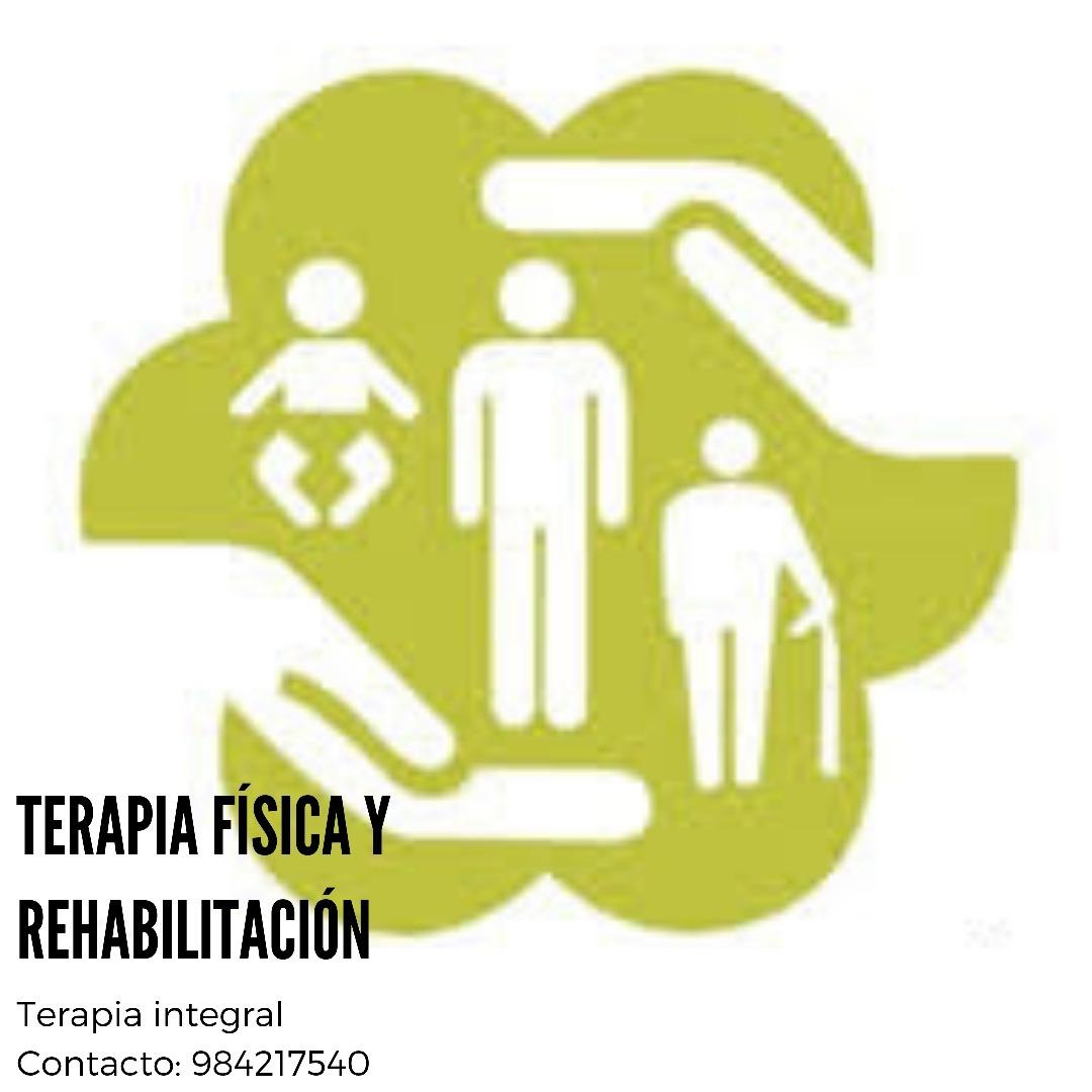 Atención en terapia fisica y rehabilitación