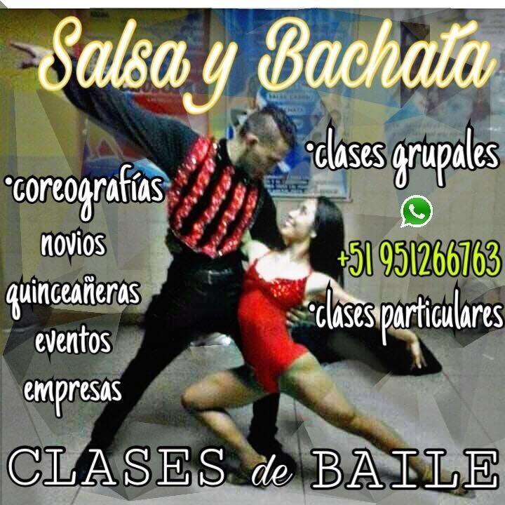 Clases de baile salsa particular. coreografías para eventos