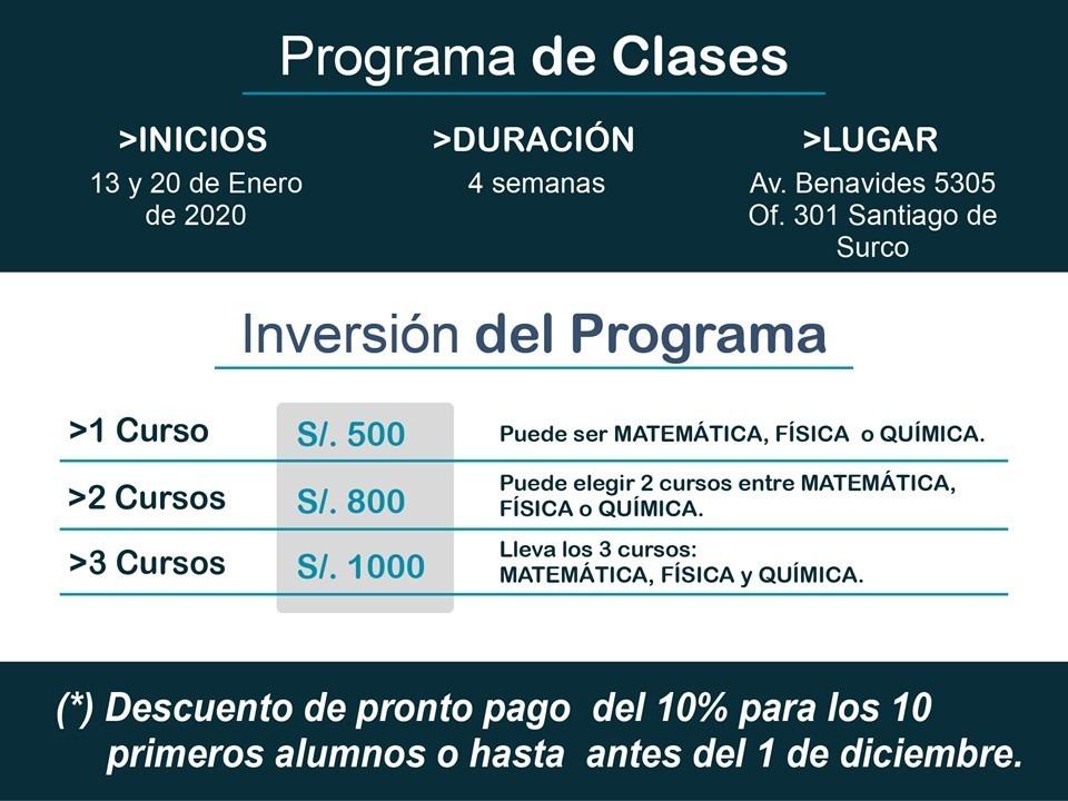 Clases particulares bachillerato inter ib,inicio 13y20 enero