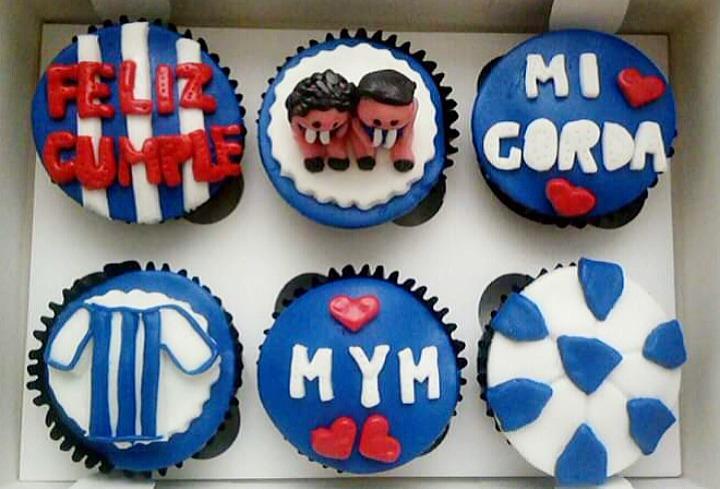 Cupcakes personalizados con dedicatoria