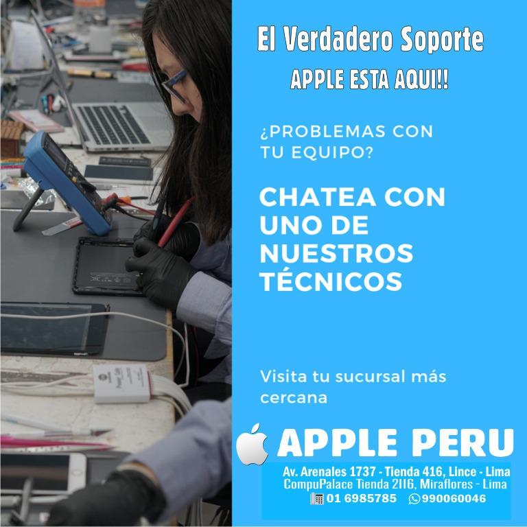 El mejor servicio técnico apple iphone ipad macbook iwatch