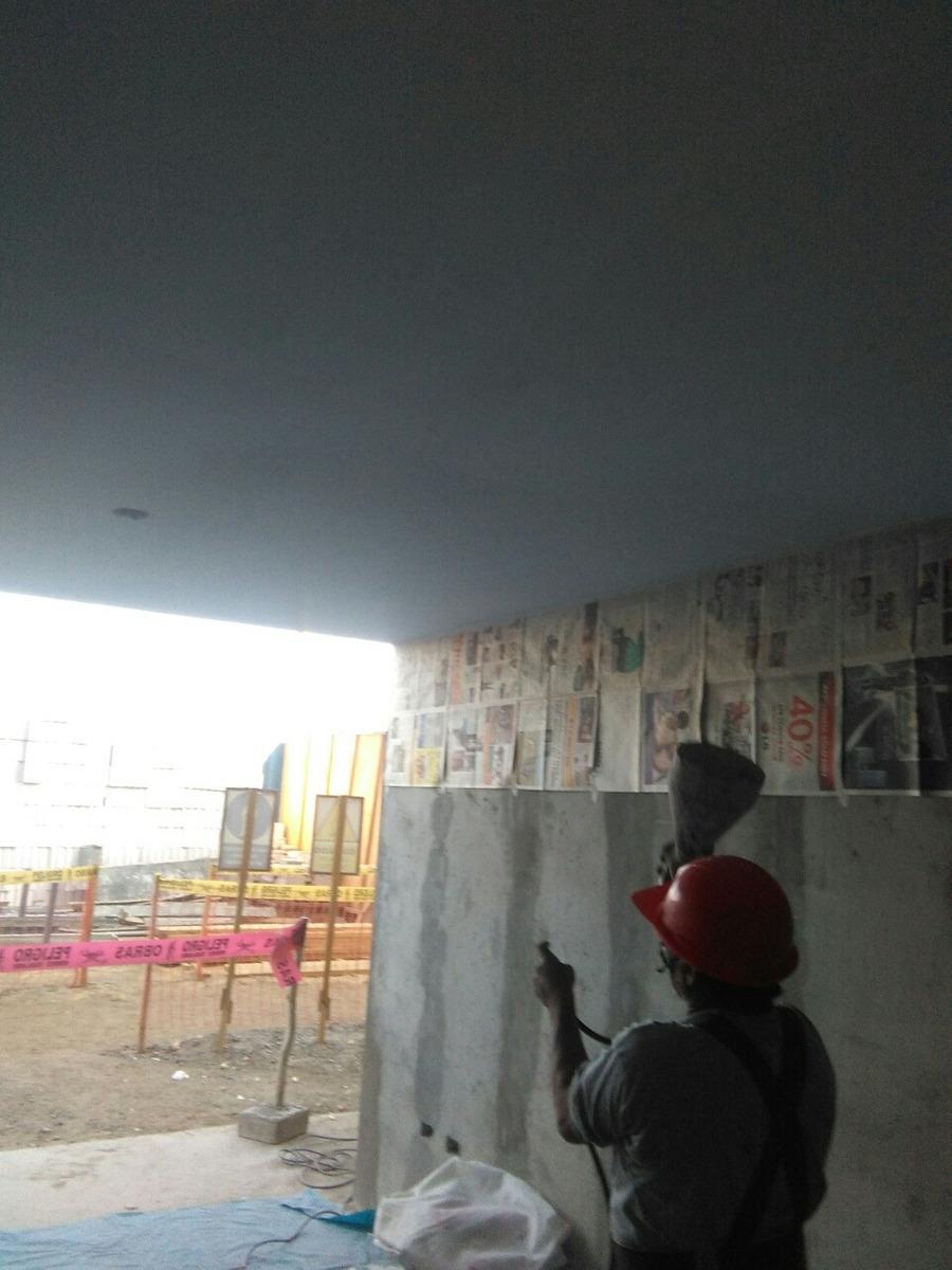 Escarchado de techo y pared
