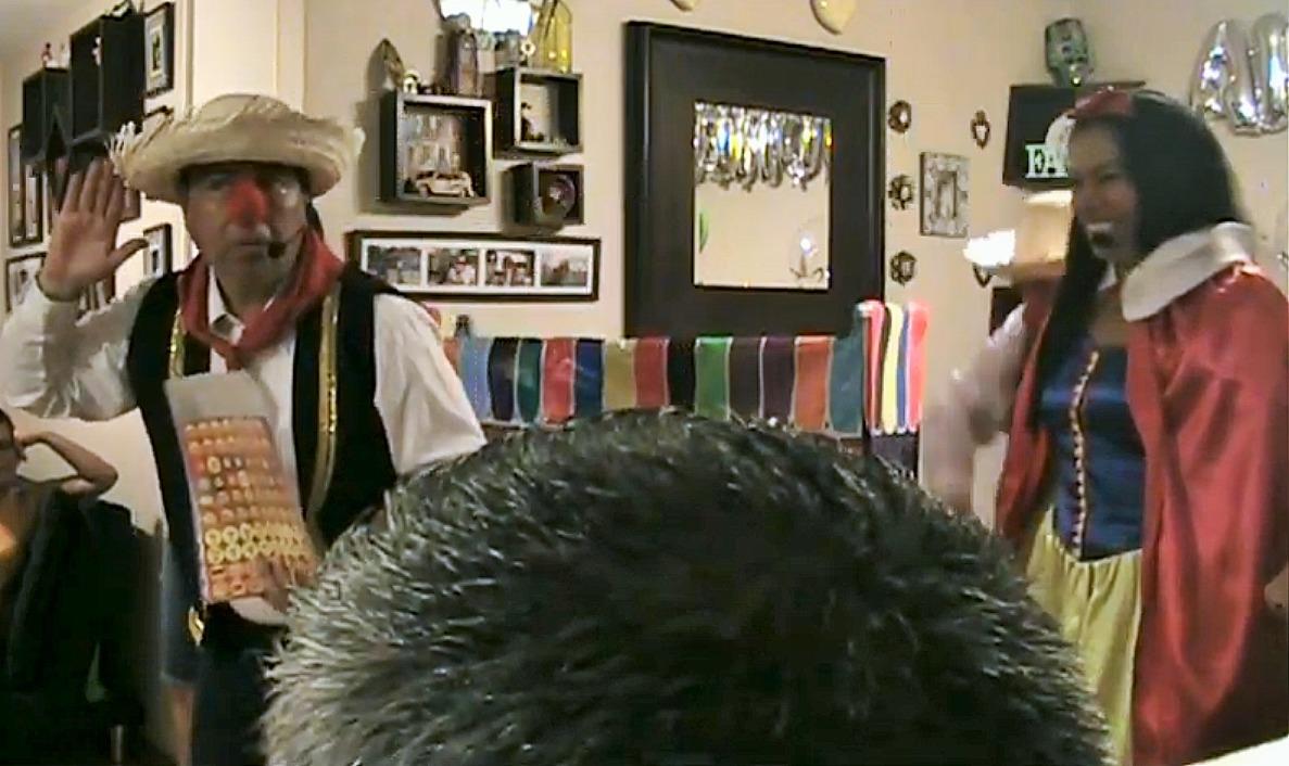 Fiesta infantil payaso animadora unicornio peppa paw patrol