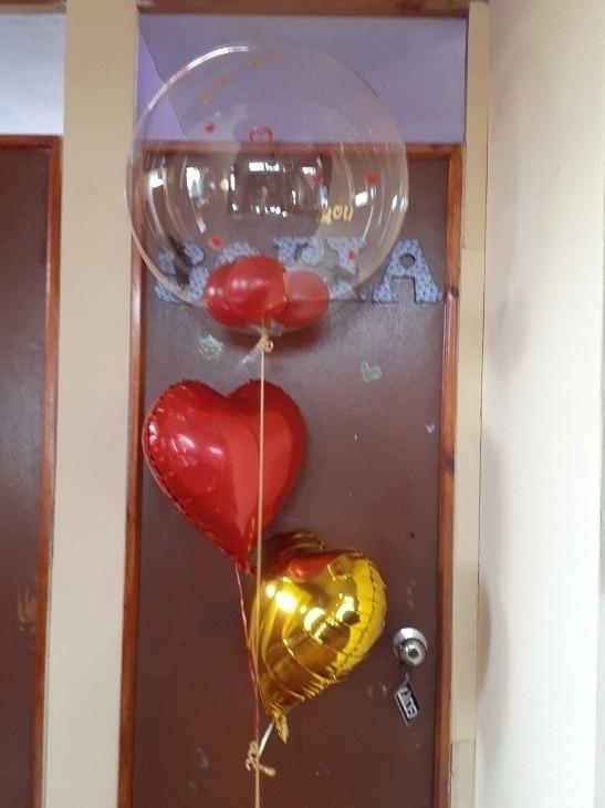 Globos helio,corazónes, estrellas,burbujas,981160963