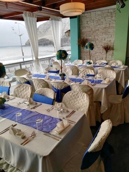 Local catering bodas 50 años aniversario evento corporativo