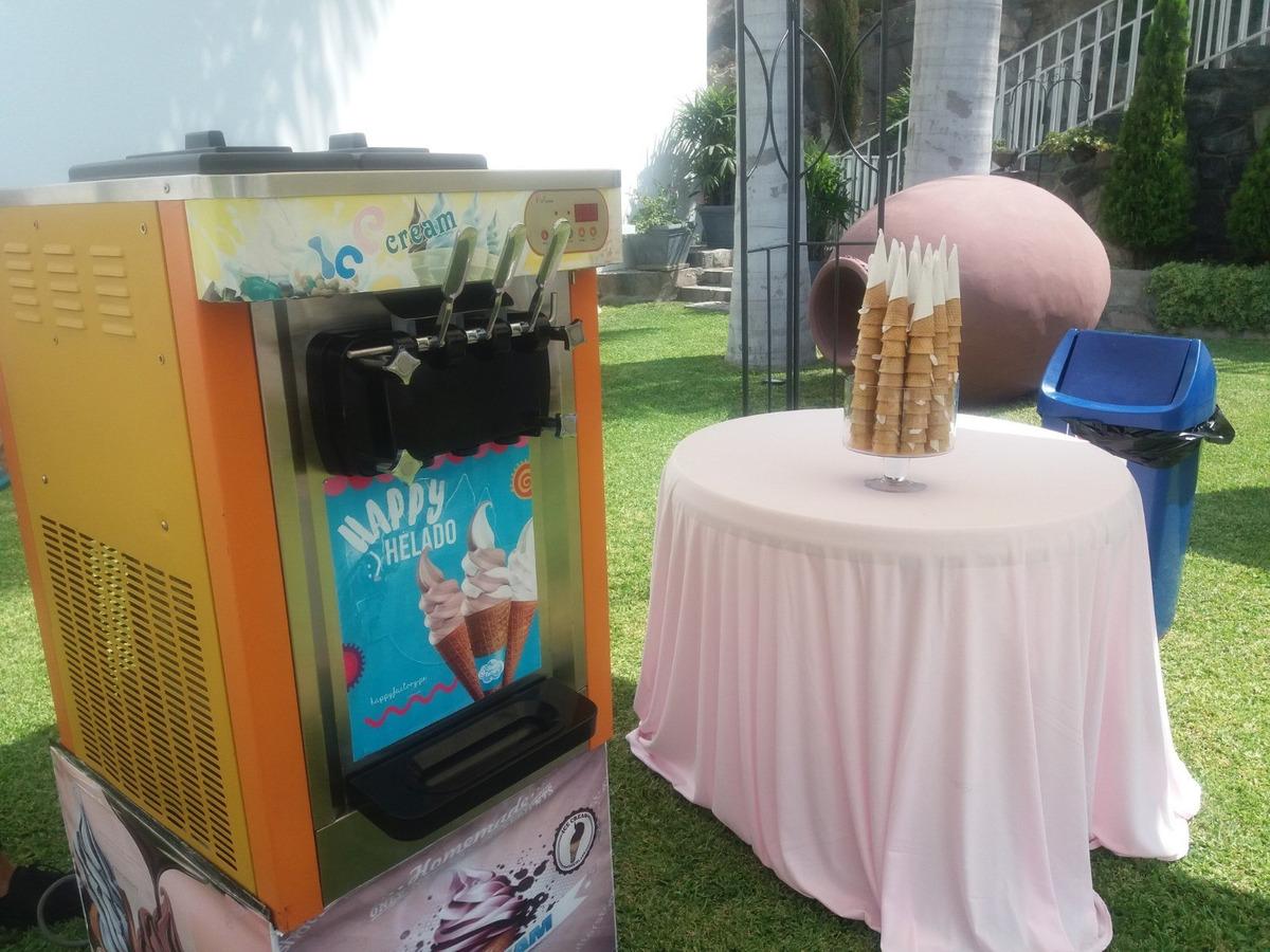 Maquina de helados para tu fiesta