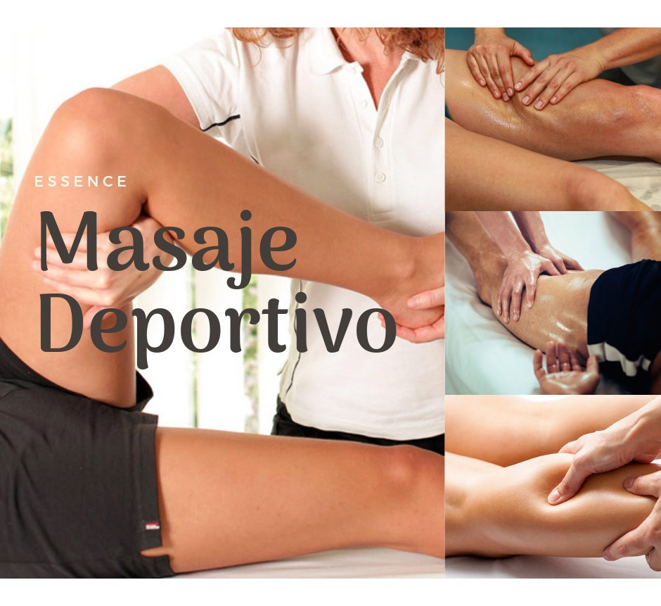 Masajes deportivos, relajantes descontracturantes