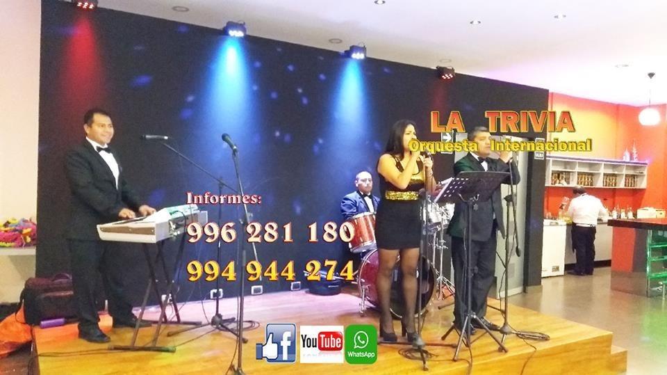 Orquesta música variada orquesta para matrimonios en perú