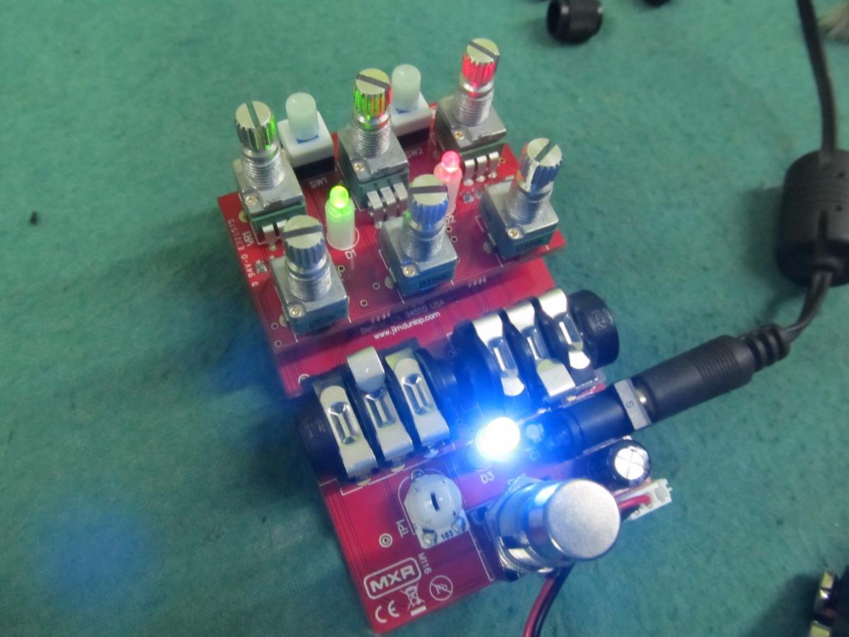 Reparación de amplificadores pedales multiefectos guitarras