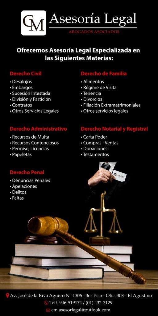 Abogado civil, familia y penal