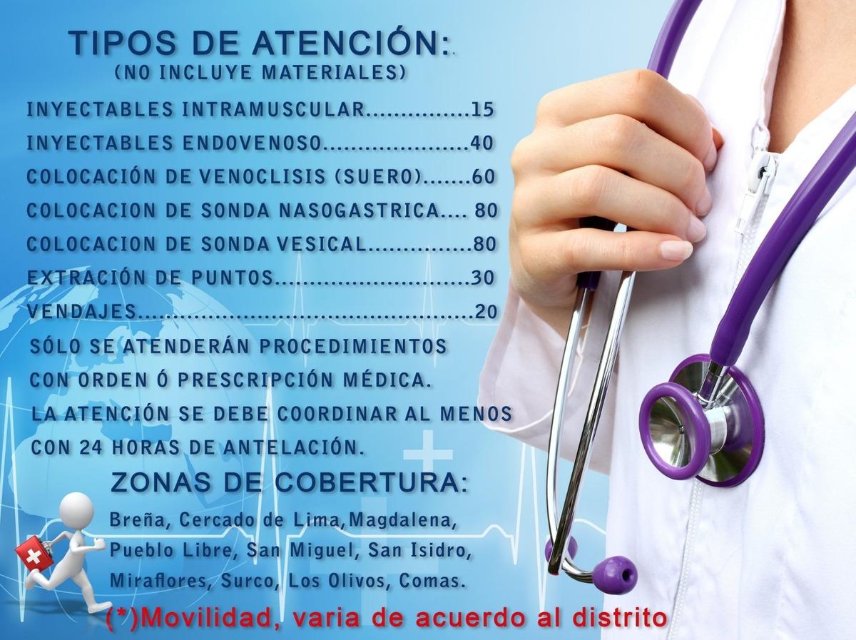 Servicio de enfermeria a domicilio