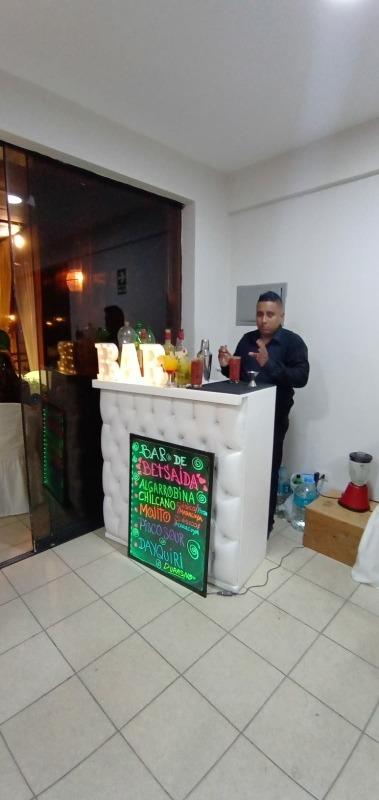 Servicio de open bar  barma