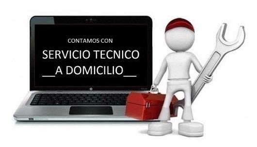 Servicio tecnico de computadoras a domicilio.