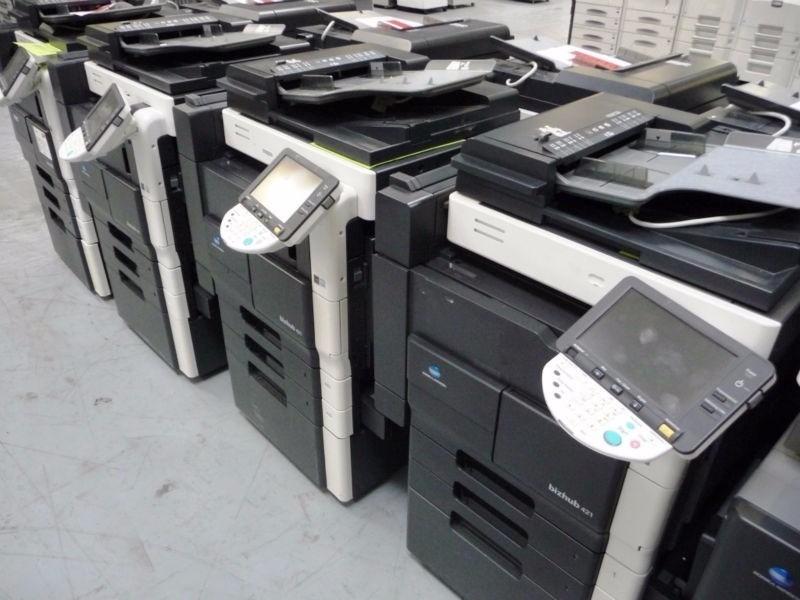 Servicio y reparación de fotocopiadoras ricoh canon minolta