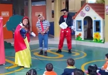 Show títeres payaso mago princesa masha oso paw patrol minie