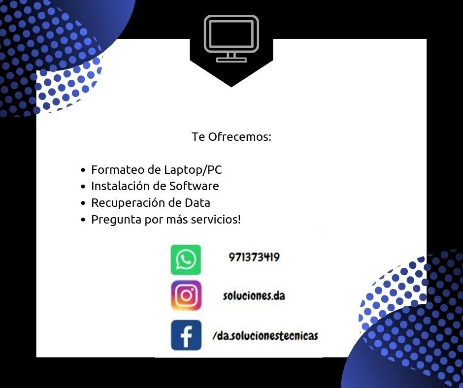 Soporte técnico   pc / laptop / all in one/ windows 10