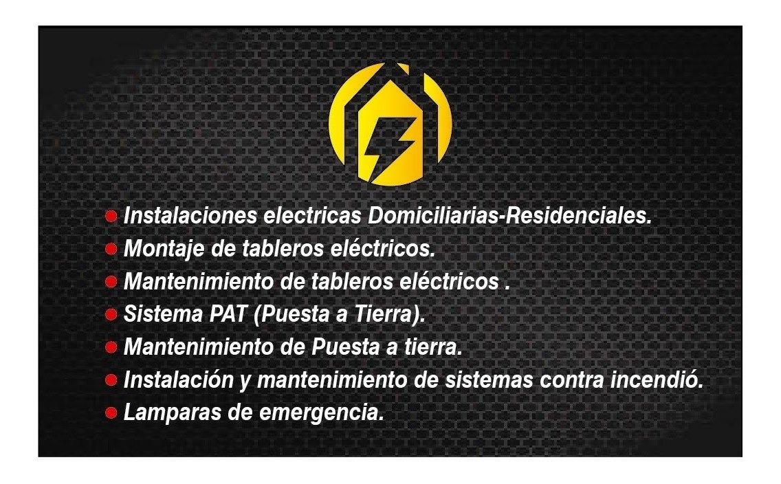 Técnico electricista......servicio a domicilio