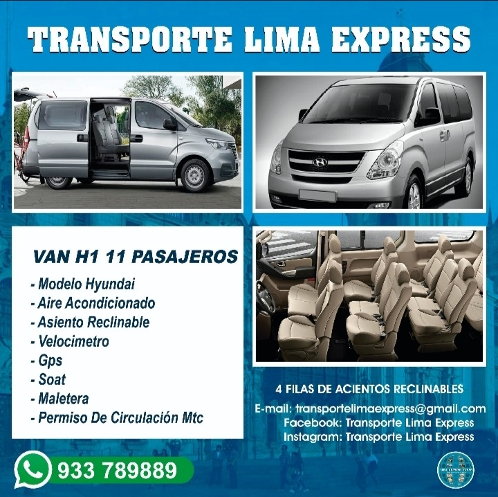 Transporte turistico a nivel nacional