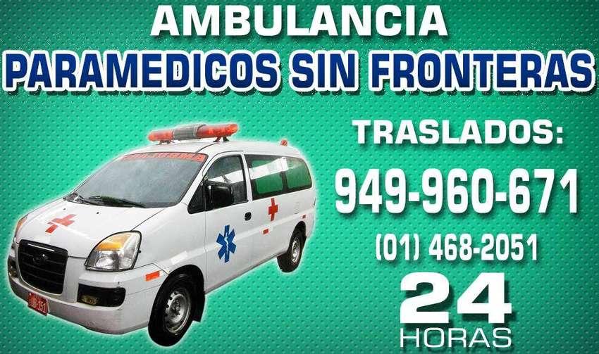 Atención a domicilio ambulancias las 24 horas