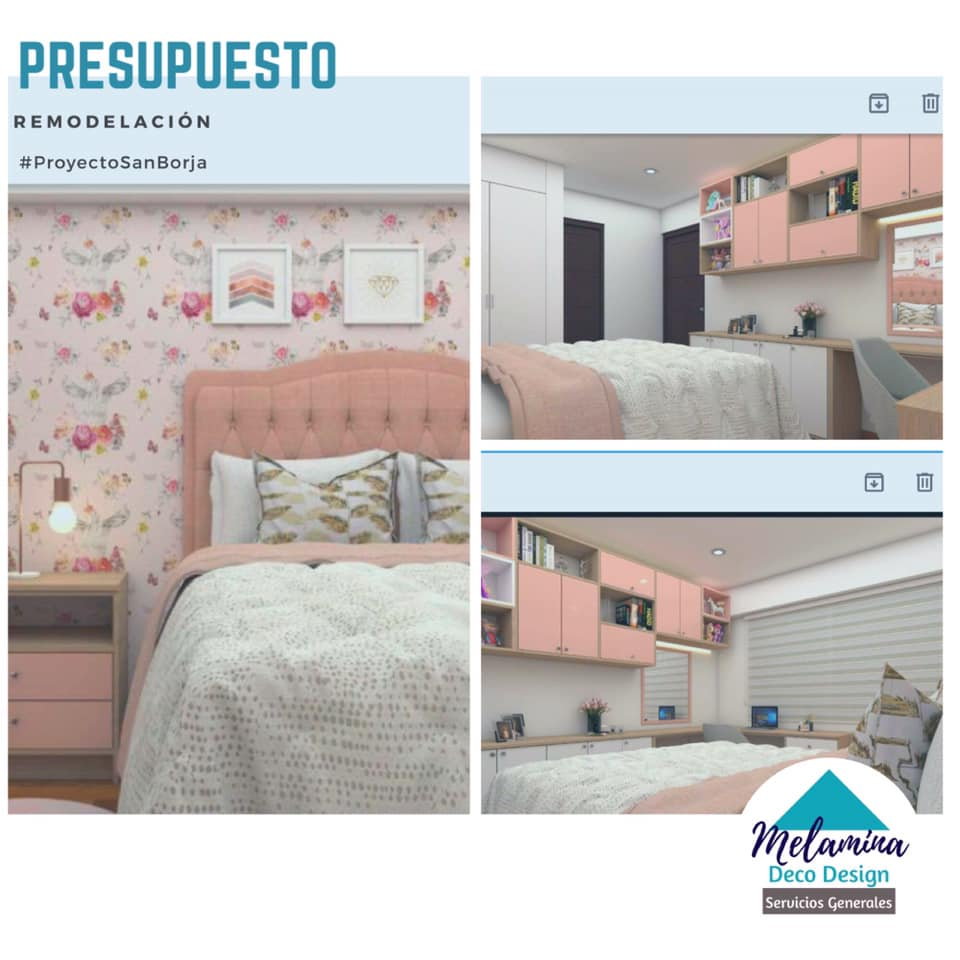 Diseño/elaboración muebles en melamina #MelaminaDecoDesign