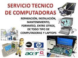 REPARACIóN DE COMPUTADORAS LAPTOPS A DOMICILIO