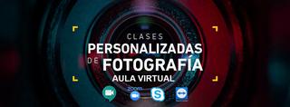 Clases virtuales de fotografía, revelado y edición