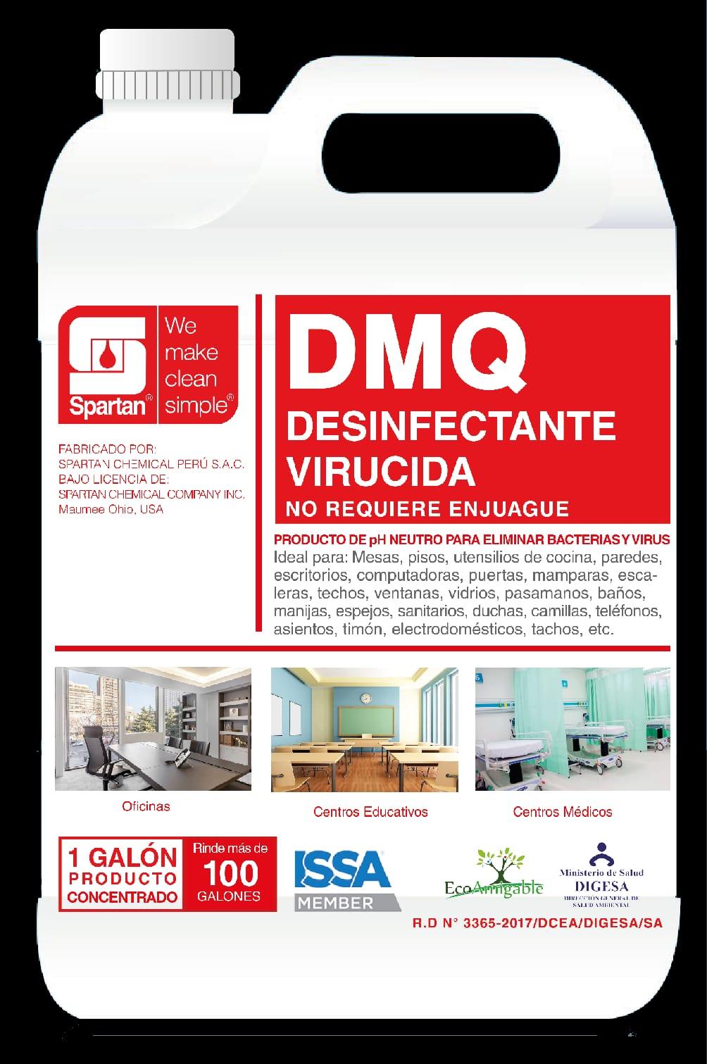 DMQ  Desinfectante - Amonio Cuaternario