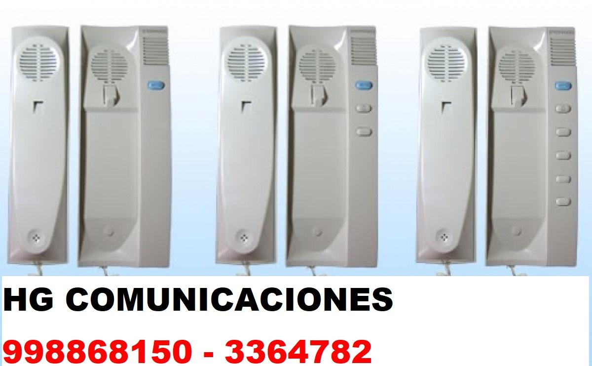 SOPORTE TECNICO DE INTERCOMUNICADORES 998868150