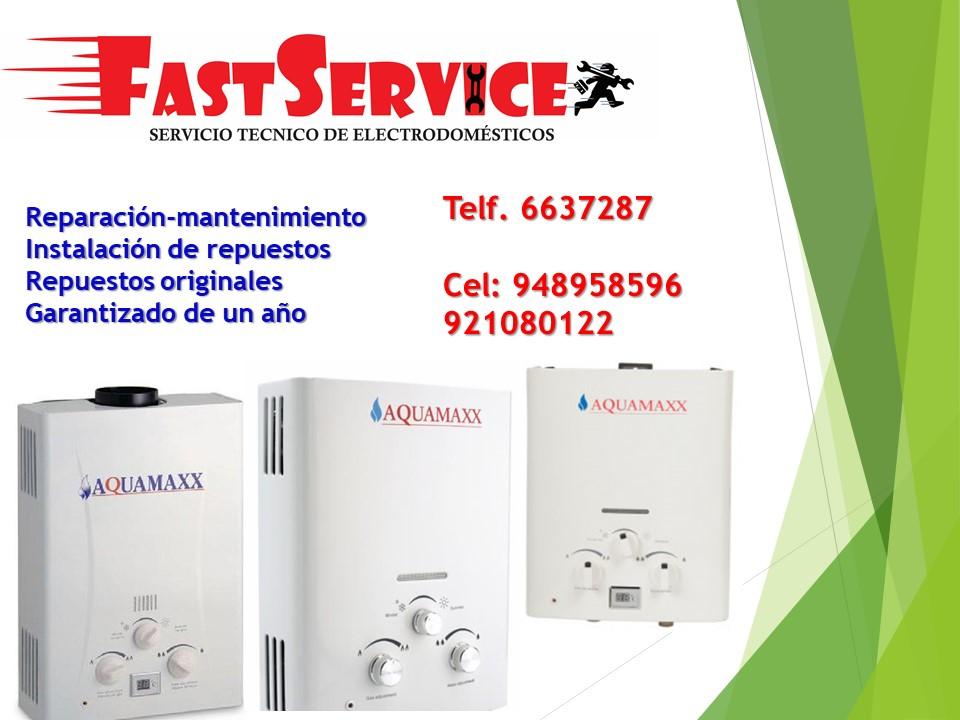 Servicio técnico reparación de termas a gas  ACUMAXX