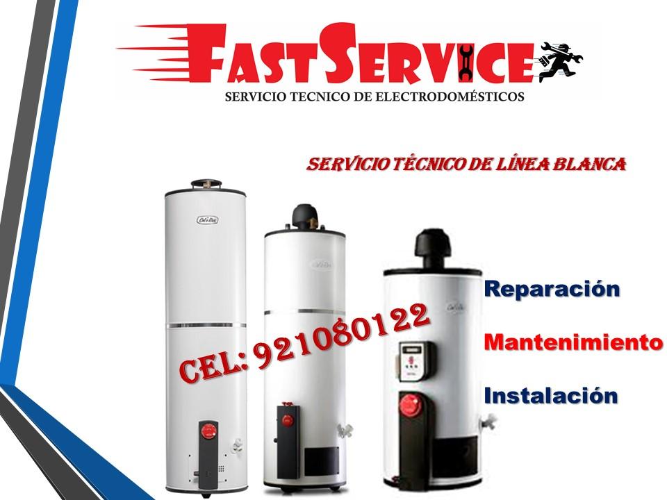 Servicio técnico de termas CALOREX a gas eléctricas