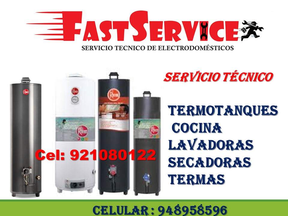 Servicio técnico de termas a gas ACUMAXX a domicilio