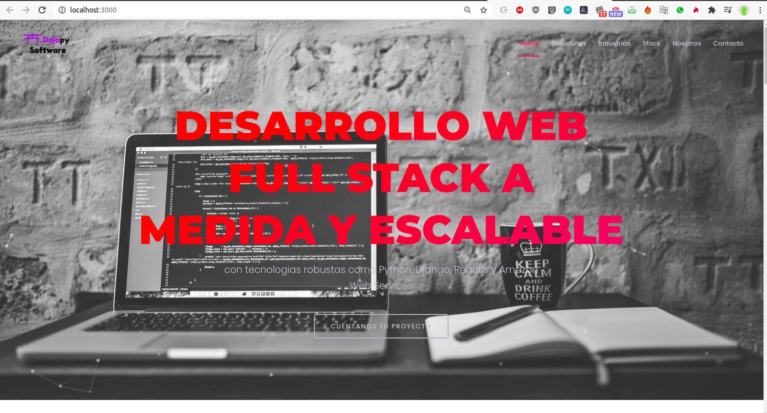 DESARROLLO DE PÁGINAS WEB A MEDIDA