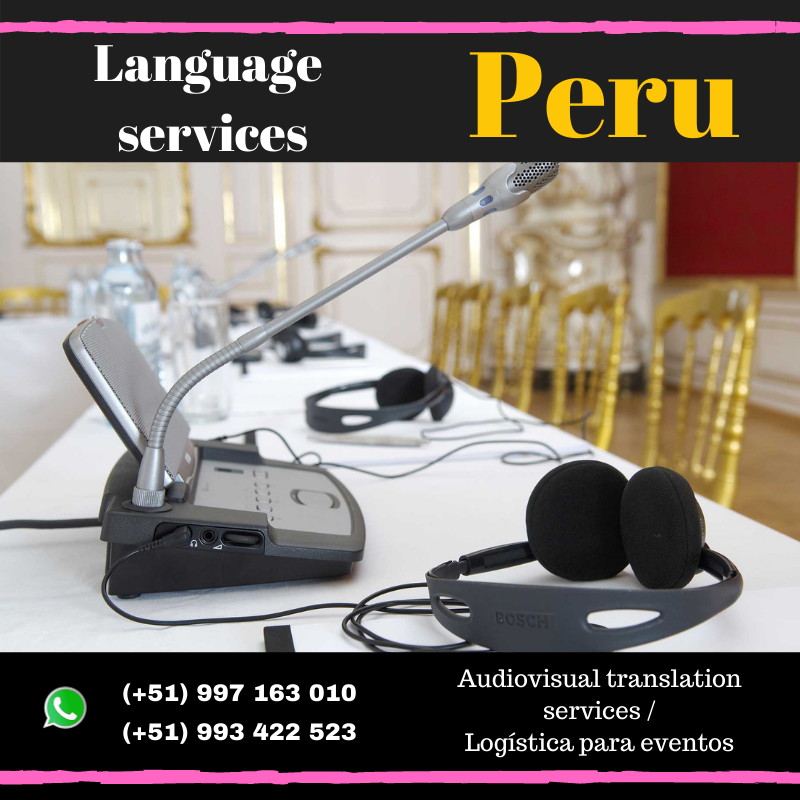 Discussion microphones in Lima/ Cusco /Piura / Arequipa