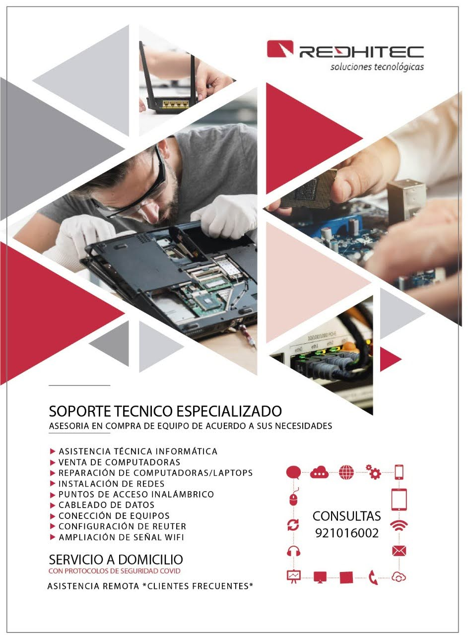 Servicios Informáticos. Reparación, Repotenciación.