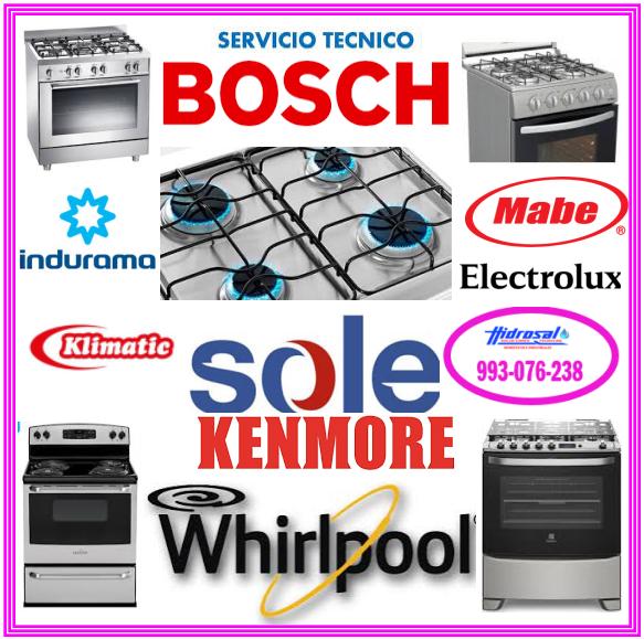 Reparación de cocinas a gas electrolux