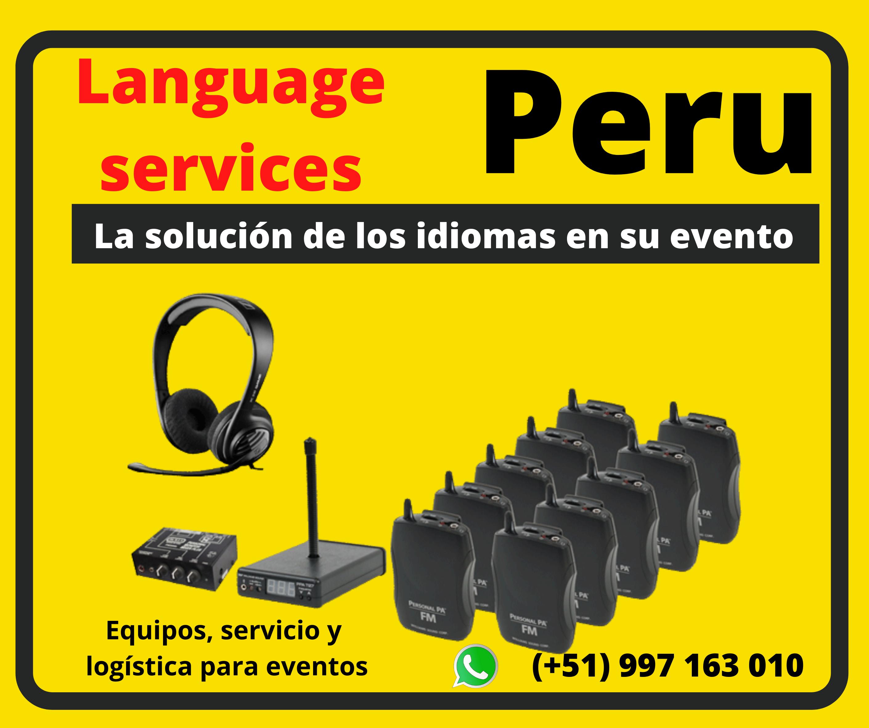 Interpretación Simultánea   Peru tradu   Piura ✅ 997163010