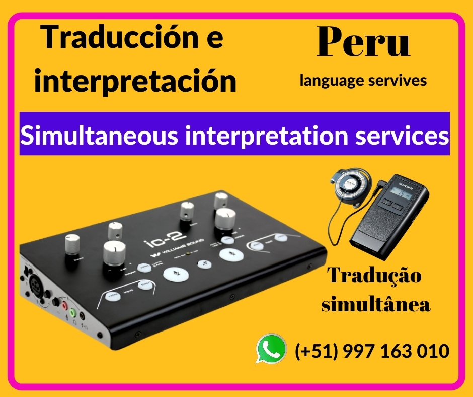 ✍️ Servicio de traducción en LIMA/ ICA ✅ 997163010