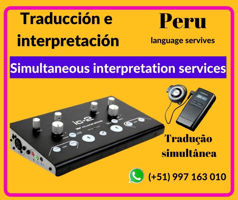 ✅ Traducción idiomas en Lima / Piura C. 997163010