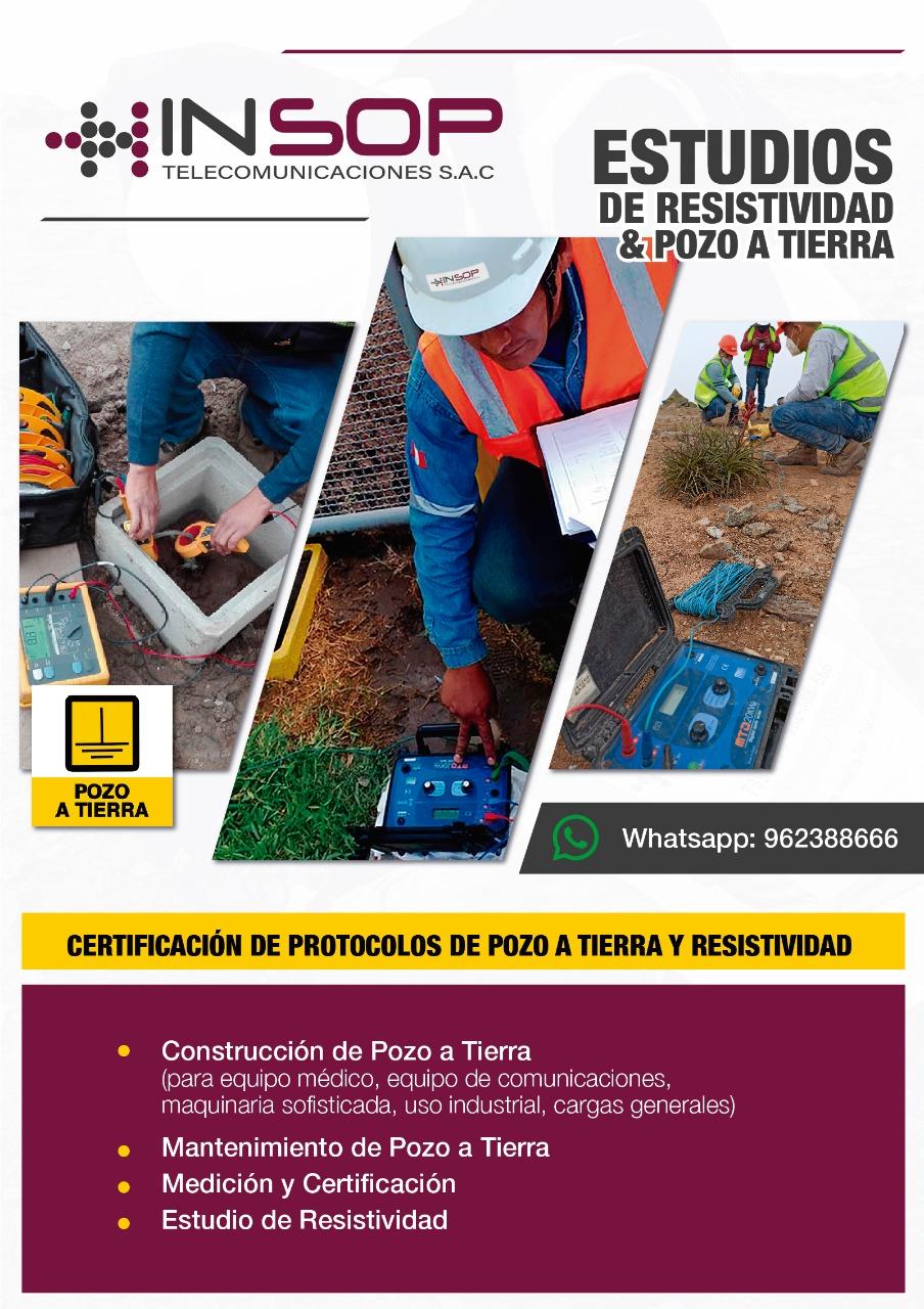 Certificado de Pozo a Tierra