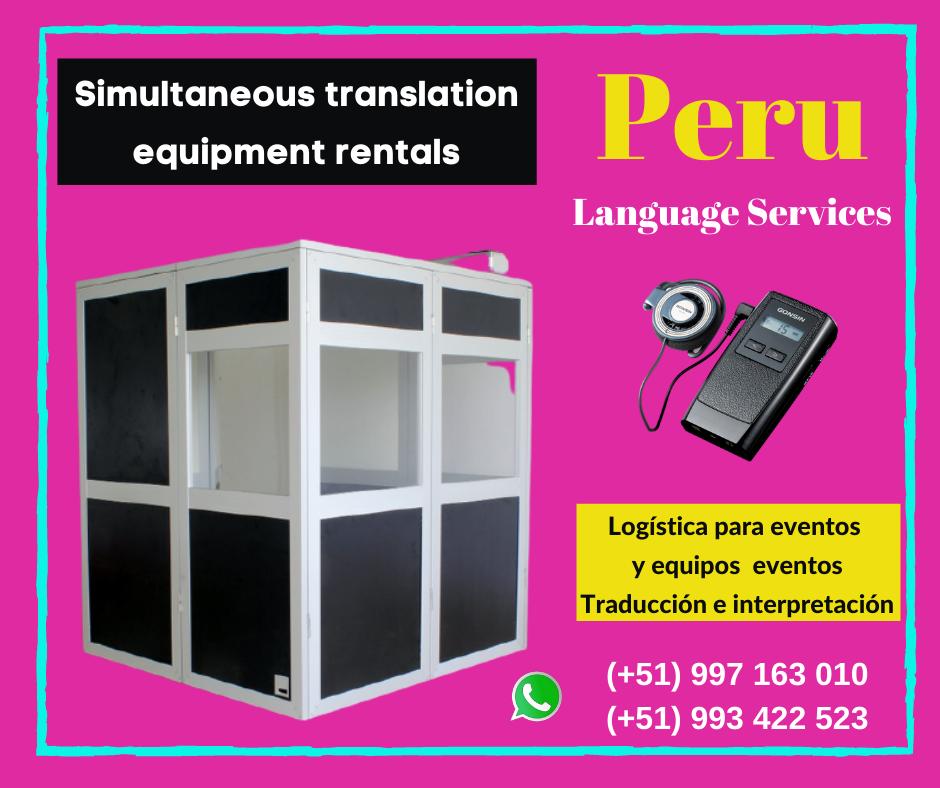 🥇Empresa de traducción en Lima  /Chiclayo✅ 997163010
