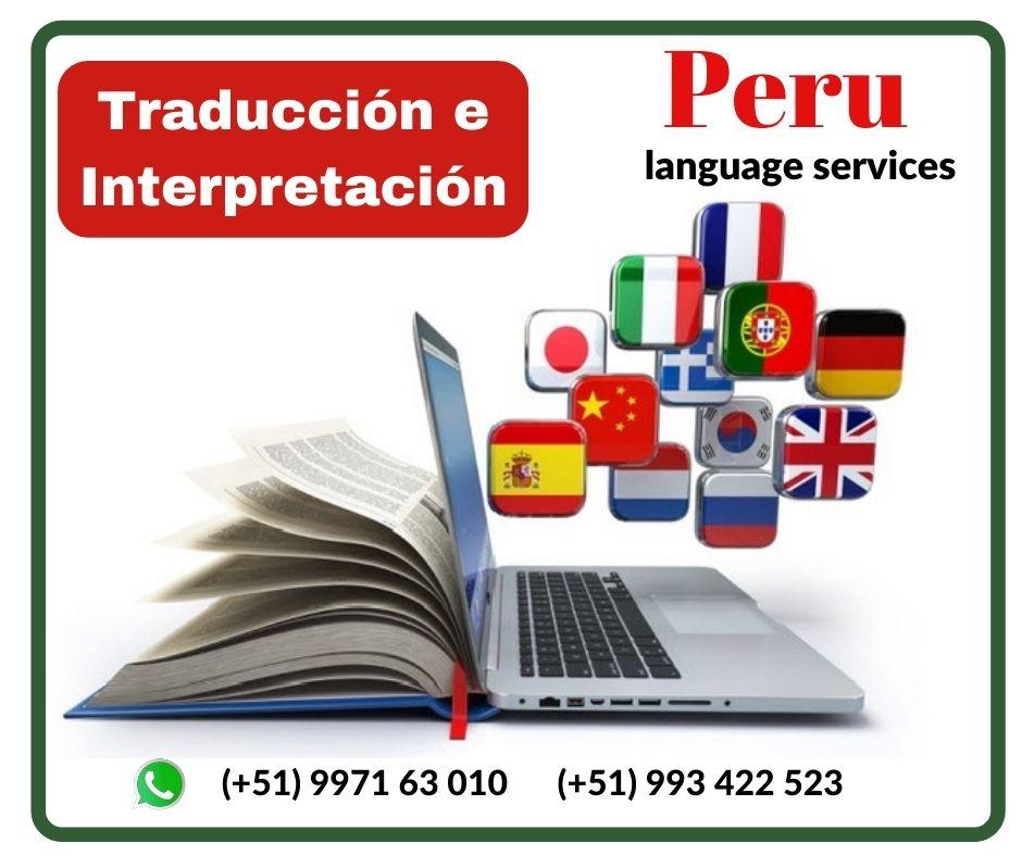 🥇Traducción Simultánea Inglés Lima ✅ 997163010