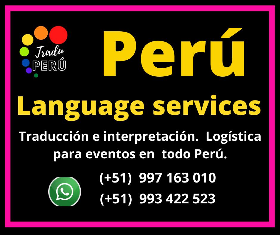 🥇 Equipos traducción simultánea  portátil Lima / Trujillo