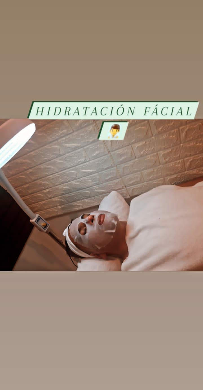 Limpieza facial &hidratación facial