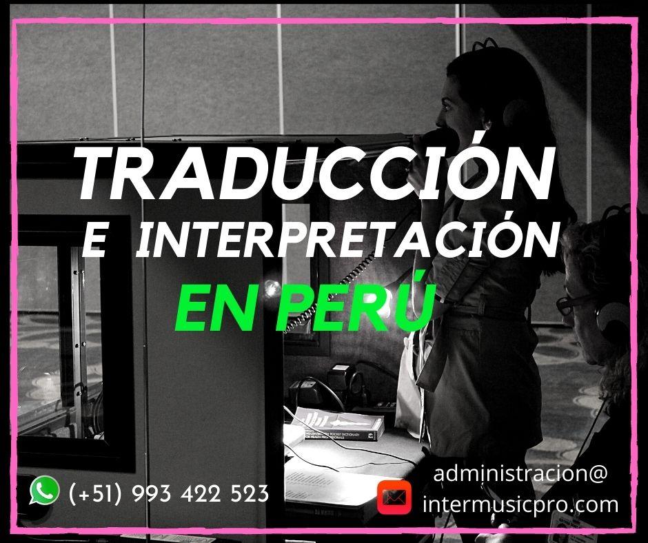 ✅ Servicio de traducción idiomas equipos Lima/ Cusco/Ica