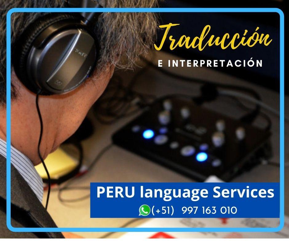 ✅ Sistema de traducción simultánea LIMA. ICA