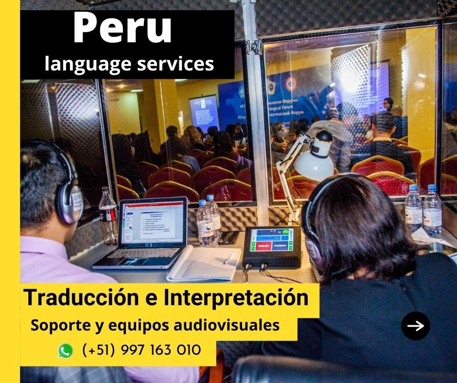 ✅  SERVICIO DE TRADUCCION EN LIMA-PERU