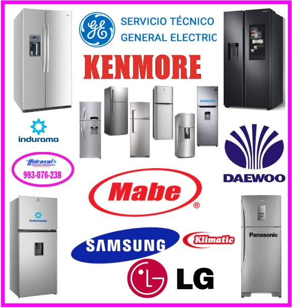 Reparaciones de refrigeradoras Lg