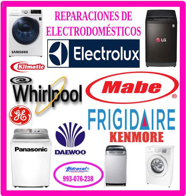 Reparaciones de lavadoras mabe