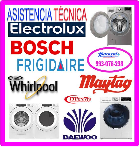 Reparaciones de lavadoras Electrolux 993076238
